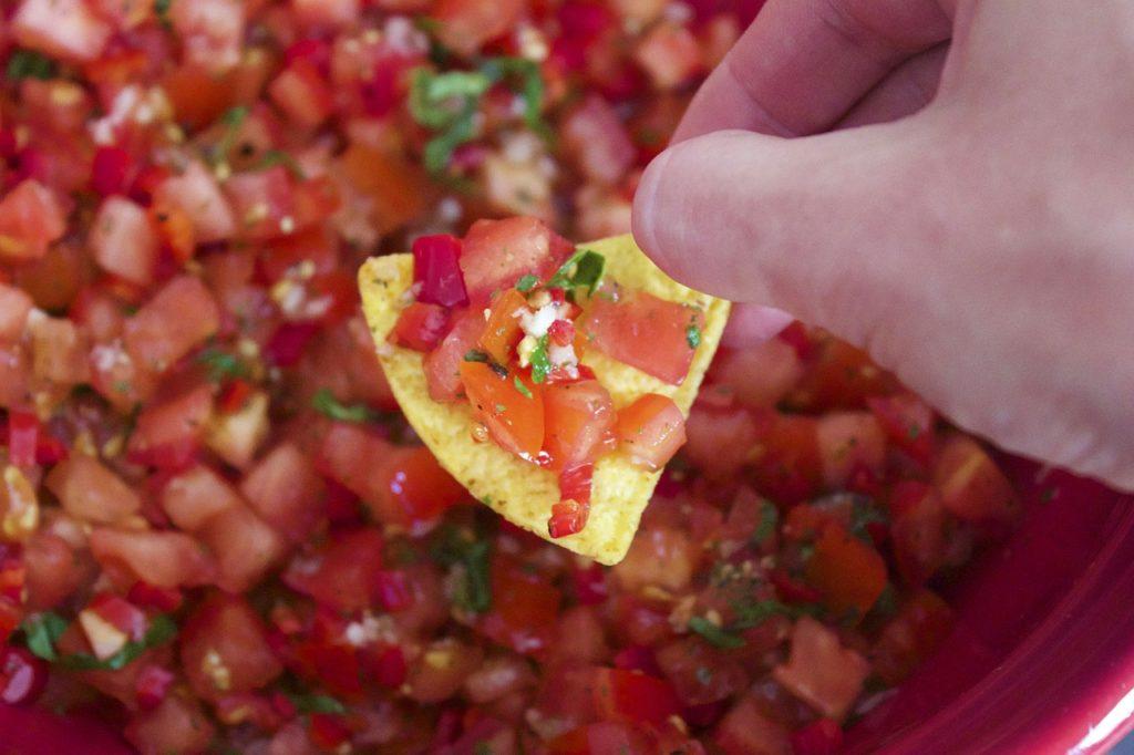 Healthy Snack Idea 7 - Salsa
