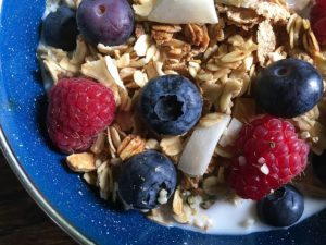 vegan-breakfast-idea-3-non-dairy-milk-with-granola-cereal